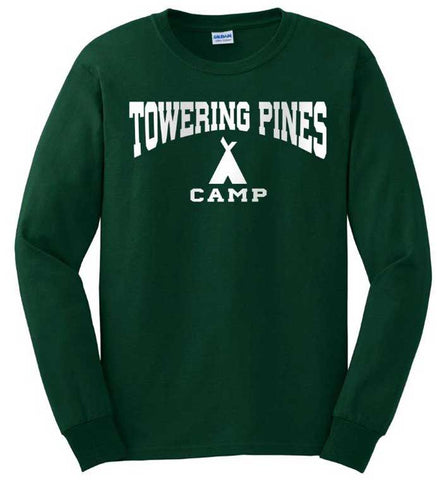 Towering Pines Camp Long Sleeve Tee