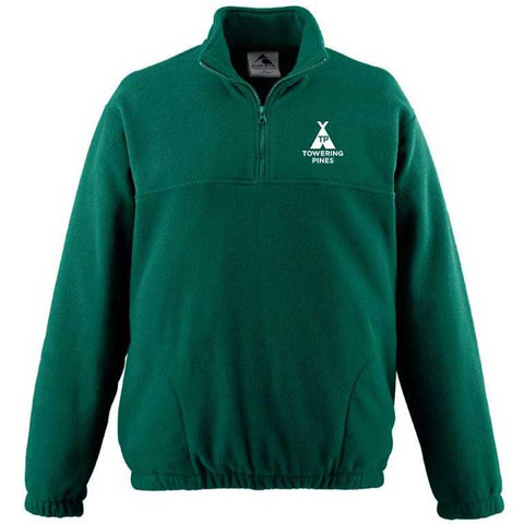 Towering Pines Camp Microfleece Zip Up Jacket