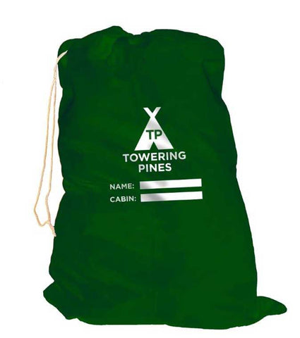 Towering Pines Camp Nylon Laundry Bag