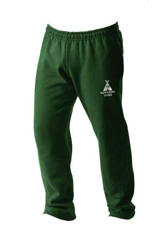 Towering Pines Camp Open Bottom Sweatpants