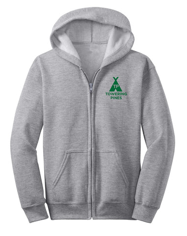 Towering Pines Toddler Zip Hoodie