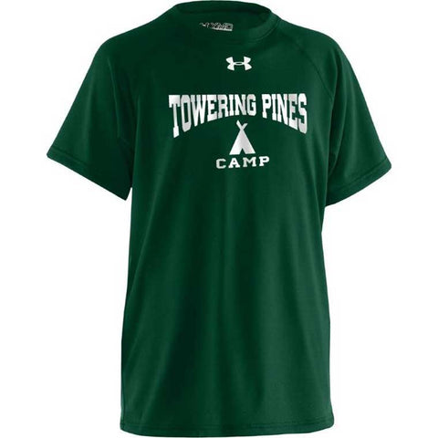 Towering Pines Camp Under Armour Tee