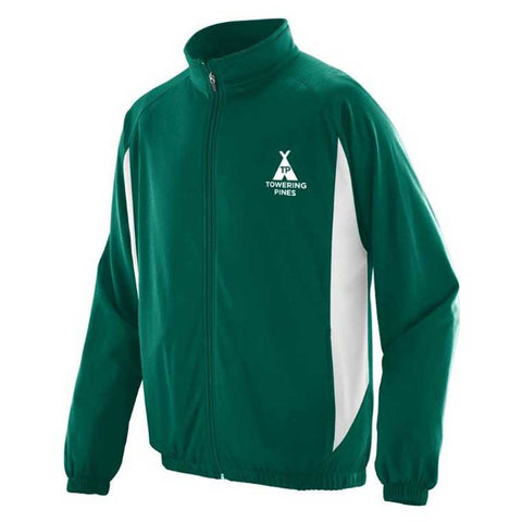 Towering Pines Camp Warm Up Jacket