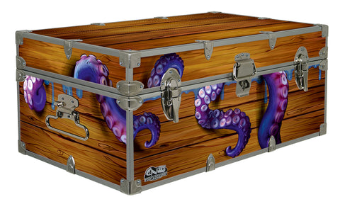 Designer Trunk - Octopus Crate - 32x18x13.5""