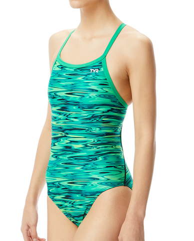 TYR Women's Hydra Diamondfit Swimsuit|DHY7Agreen