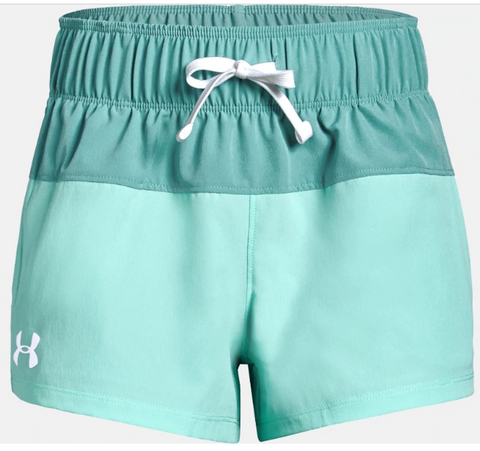 Under Armour Splash Board Shorty Shorts - Girls|1341127-312YS|1341127-312YM|1341127-312YL
