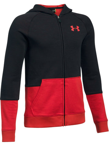 Under Armour Boys Sportstyle FZ Hoodie|13190|13191|13192