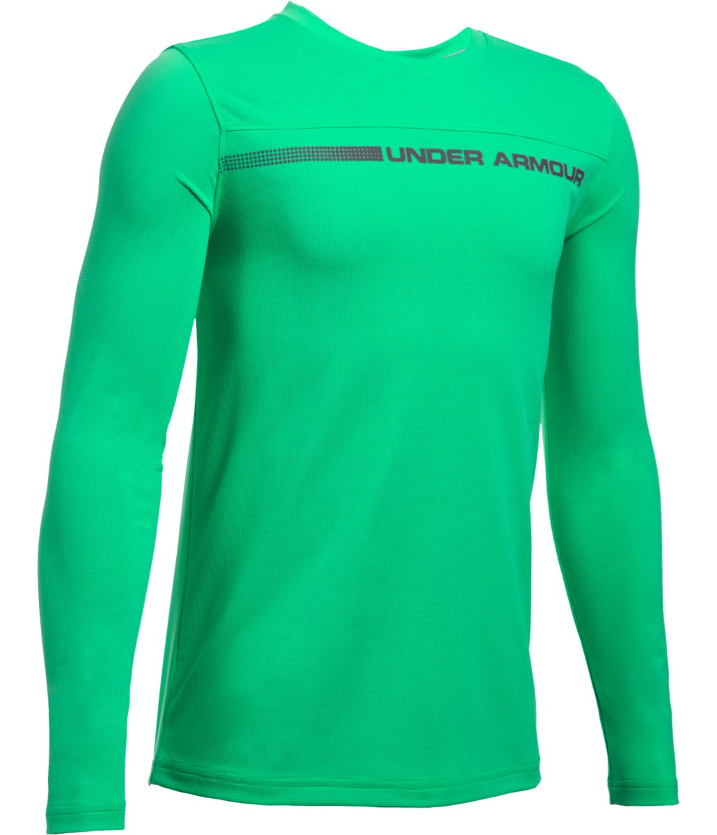 Under Armour Boys Sunblock Long Sleeve Tee