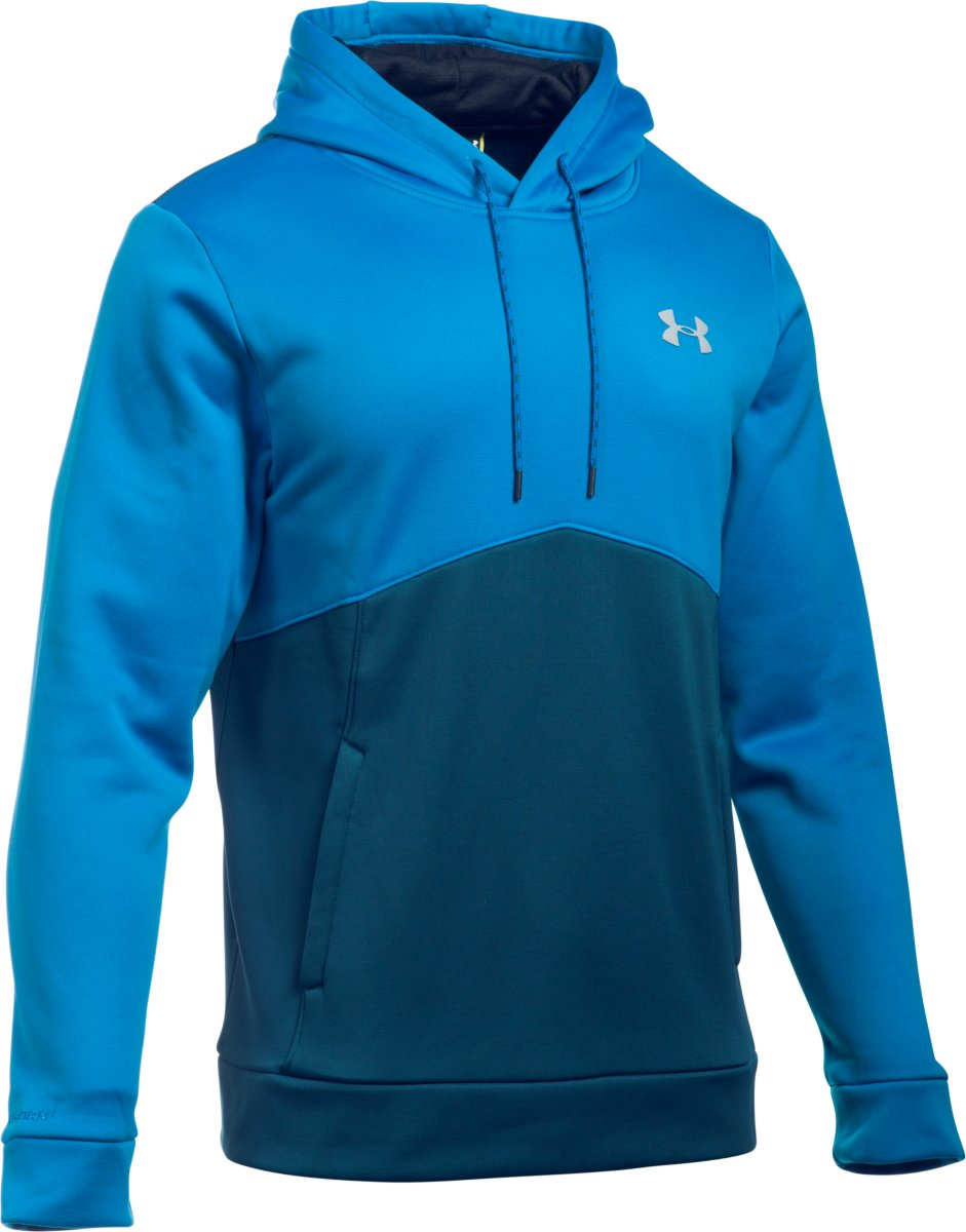 001222070120 Under Armour Mens Storm Armour Fleece Icon Hoodie