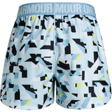 Back view of Under Armour Play Up Printed Girls Short