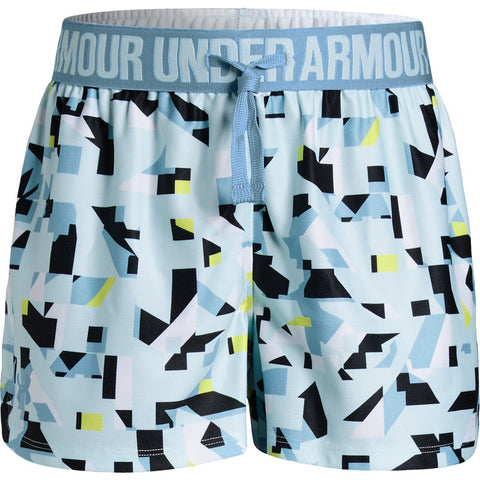 Under Armour Play Up Printed Girls Short|1341126-451-YSM|1341126-451-YMD|1341126-451-YLG