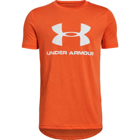 Under Armour Sportstyle Logo boys Short Sleeve Shirt|1330893-882-YSM|1330893-882-YMD|1330893-882-YLG|1330893-882-YXL