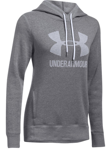 Under Armour Womens Favorite Fleece Sportstyle Hoodie|13382|13383