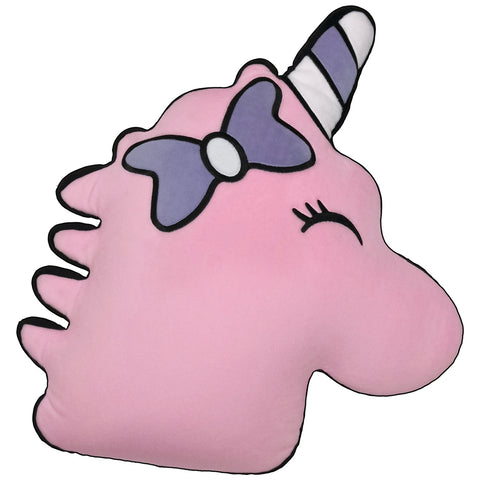 Unicorn Bubble Gum Scented Fleece Pillow