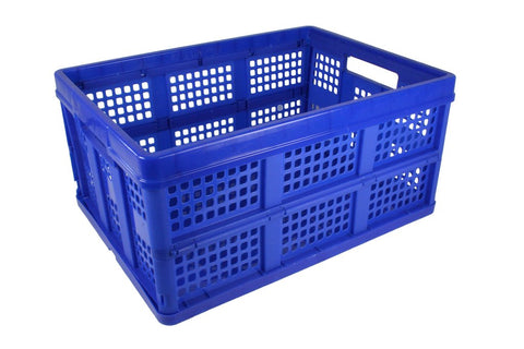 Vented Folding Crate|75404BL