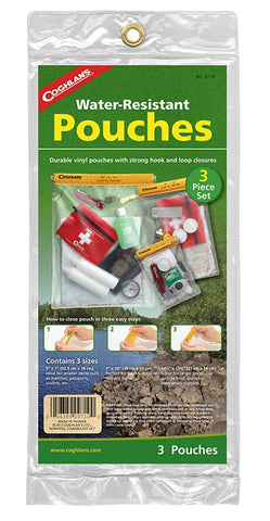 Coghlans® Waterproof Pouch - 3 Piece Set