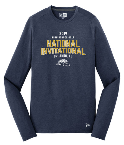 NHSGA New Era Wicking Long Sleeve