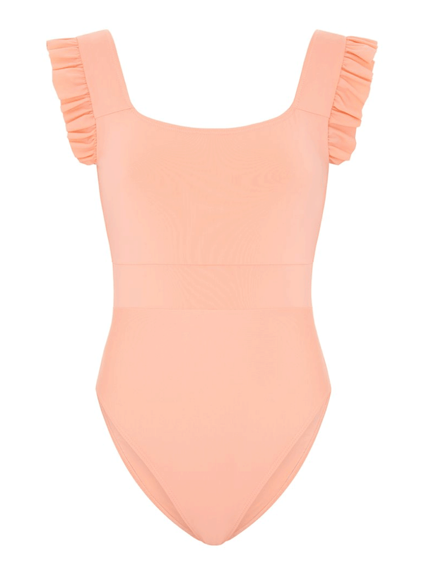 Collyer Swimsuit, Peach