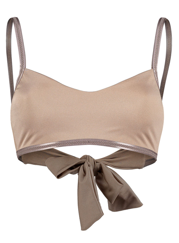 Helena top, Toffee