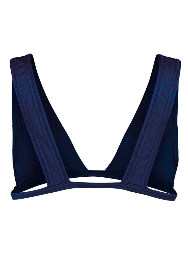 Natasha top, Navy blue