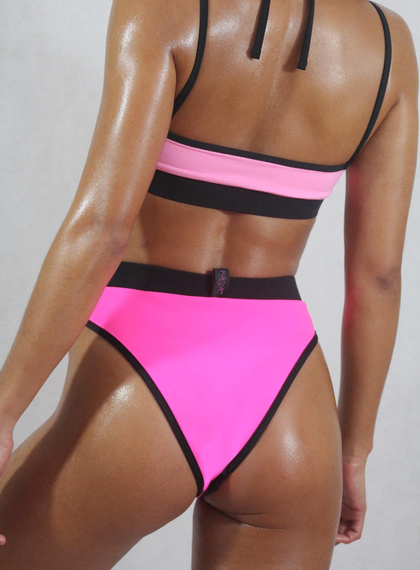 Reversible Sky High bottom, Pink