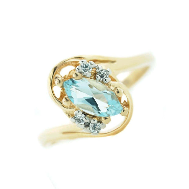 jewels, blue jewels, blue gemstones, blue gems, blue topaz rings, blue topaz gem, blue topaz marquise ring, blue topaz gold ring, gjfl, gems and jewels for less,  blue stone, womens ring, womens blue topaz ring