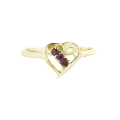 gems and jewels for less, women's ring, heart ring, ruby ring, real gold ring, 14k gold ring, kay, zales, woman ring, jewel, precious ruby, gift for mom, valentines gift, love ring, promise ring, mothers day
