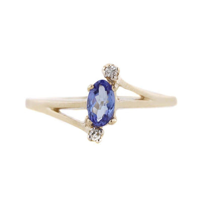 quinceanera, tanzanite ring, sweet 16 ring, 14k gold ring, white sapphires, sapphire ring, monthers day, gems and jewels for less, jewelsforless, classic jewelry, fine jewelry, best price