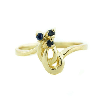 sapphire, september birthstone, yellow gold sapphire ring, precious gemstone, gems and jewels for less, jewelsforless, fine jewelry, mothers day, blue stone, sweet 16 ring, alternative engagement ring, promise ring