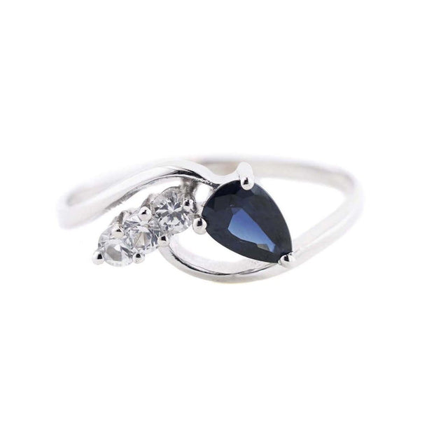 white gold rings, sapphire, sapphire ring, white gold, september birthstone, best price, mothers day, gems and jewels for less, jewelsforless, designer jewelry, fine jewelry, unique designs, art jewelry, traditional jewelry