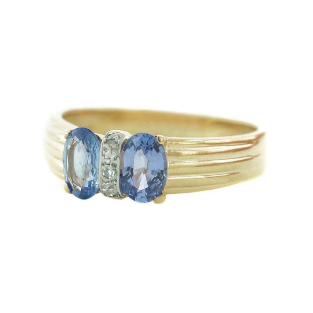 gems and jewels for less, tanzanite, tanzanite ring, women's ring, gold, gold ring, december birthstone, band, gold band, gemstone band, fine jewelry, zales, kay, best price, wholesale jewelry, diamond ring, diamonds