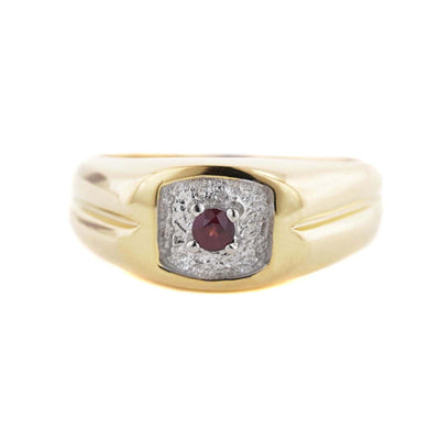 Garnet, men's garnet ring, gold ring, silver ring, january birthstone, heavy ring for man, ring for man, fathers day, best price, fine jewelry, gemstone ring, men's gemstone ring, wholesale jewelry, gems and jewels for less