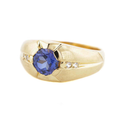 men's ring, sapphire ring, september birthstone, silver ring, men's sapphire ring, gold ring, exclusive ring, big mans ring, best price rings, gems and jewels for less, men's style