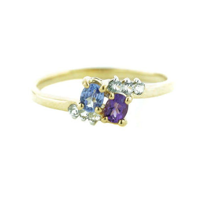 gems and jewels for less, mothers day, tanzanite, amethyst, amethyst women's ring, woman ring, february birthstone, tanzanite ring, fine jewelry, art, sapphire, gift for mom, best price, wholesale jewelry, unique ring, natural gemstones
