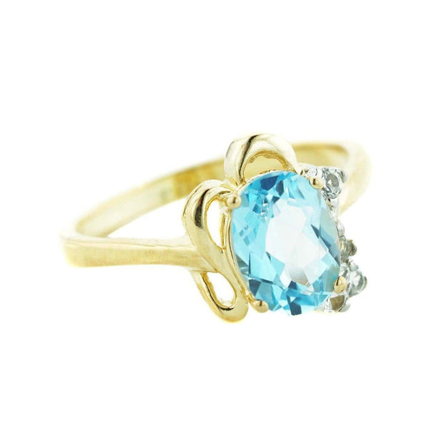blue gemstones, blue stone, blue jewels, gems and jewels for less, mothers day, best price, fine jewelry, 14k gold jewelry, white gold ring, blue topaz ring, december birthstone, blue topaz december birthstone, heavy stone ring, 14k jewelry, gift for mom, valentines day, ring for woman, women's ring, gemstone jewelry, kay, zales