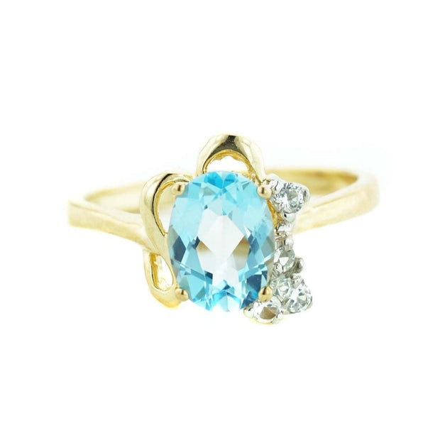blue gemstones, blue stone, gems and jewels for less, mothers day, best price, fine jewelry, 14k gold jewelry, white gold ring, blue topaz ring, december birthstone, blue topaz december birthstone, heavy stone ring, 14k jewelry, gift for mom, valentines day, ring for woman, women's ring, gemstone jewelry, kay, zales