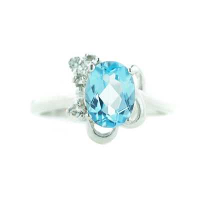 gems and jewels for less, mothers day, best price, fine jewelry, 14k gold jewelry, white gold ring, blue topaz ring, december birthstone, blue topaz december birthstone, heavy stone ring, 14k jewelry, gift for mom, valentines day, ring for woman, women's ring, gemstone jewelry, kay, zales