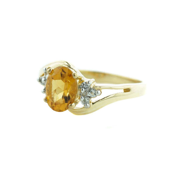 november birthstone citrine, yellow gemstones, citrine, natural citrine stone, citrine stone, meaning of citrine, birthstone for november, 14k yellow gold, gold citrine ring, gems and jewels for less, us gems and jewels, gjfl, womens citrine ring, womens ring ring for woman, citrine ring for woman