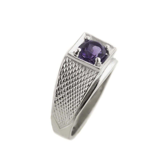 amethyst mens ring, february birthstone, men's amethyst ring, amethyst ring, men's silver amethyst ring, platinum over silver, gemstone, jewelry, jewelry jewelry jewelry, gems and jewels for less, jewelsforless, gjfl, father's day, us gems and jewels, gjfl, 925 silver, 925 silver ring, mens amethyst ring, s925