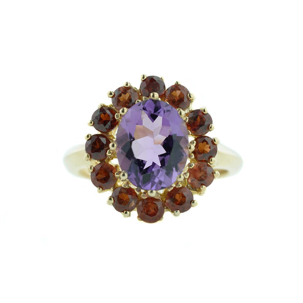 gems and jewels for less, jewelsforless, mothers day, garnet, amethyst, january birthstone, february birthstone, gold jewelry, fine gold, best price, women's rings