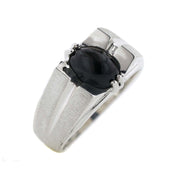 Men's black onyx ring, black onyx, men's ring, silver ring, best price, wholesale jewelry, fine jewelry, men's unique rings, men's fine jewelry, gems and jewels for less, fathers day, rings
