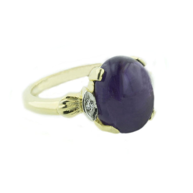 cabochon ring, amethyst engagement ring, amethyst wedding ring, amethyst cabochon ring, amethyst ring, gemstone ring, amethyst purple ring, amethyst ring etsy, amethyst rings etsy, purple gemstone, purple rings, purple stone engagement ring, amethyst stone ring