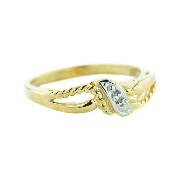 diamond band, twist band, 14k yellow gold, diamond ring, wedding ring, diamonds, mothers day, gems and jewels for less, jewelsforless, diamonds are forever, best price, fine jewelry, april birthstone