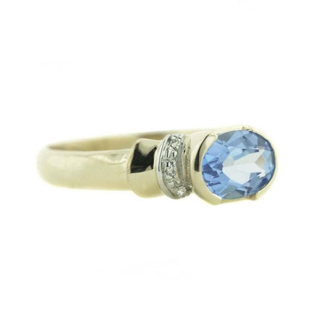 swiss blue topaz ring, gjfl, blue topaz, blue topaz ring, december birthstone, mothers day, 14K gold, rings, gemstone rings, exclusive design, designer ring, gems and jewels for less, jewelsforless, gold, best price