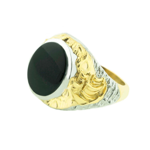 black onyx mens ring, black onyx mens rings, pirate ring, black ring, dread pirate ring, wow heirloom rings, gems and jewels