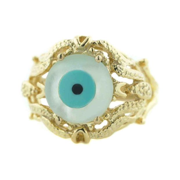 gems and jewels for less, Evil Eye, protection jewelry, talisman, superstition, symbolic curse, hamsa, tree of life, the evil eye, kabbal jeweish, evil eye ring, sybolism jewelry, karma, luck, gold ring, women's ring, woman ring, wholesale jewelry, best price evil eye