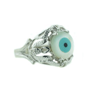 Evil eye, protection ring, women's ring, 925 silver, talisman, best price, fine jewelry, gems and jewels for less, mothers day