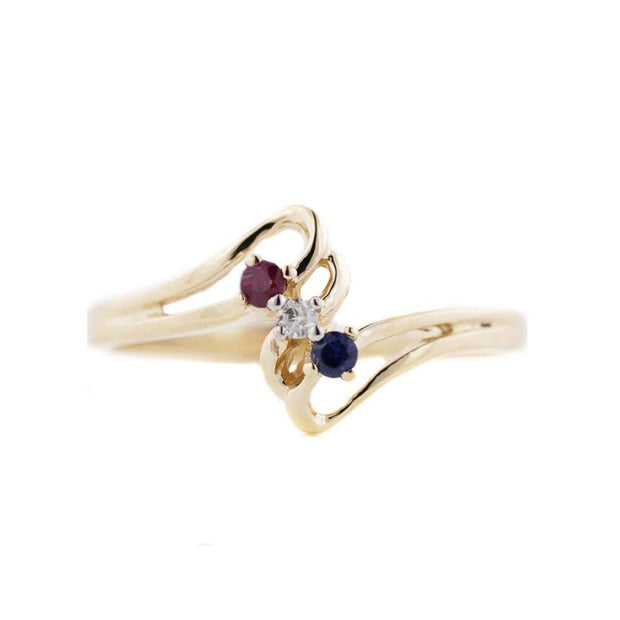 April birthstone, september birthstone, july birthstone, ruby ring, diamond ring, sapphire ring, precious gemstones, natural gemstones, yellow gold, 14k gold, mothers day, best price, fine jewelry, gems and jewels for less, jewelsforless, mothers day