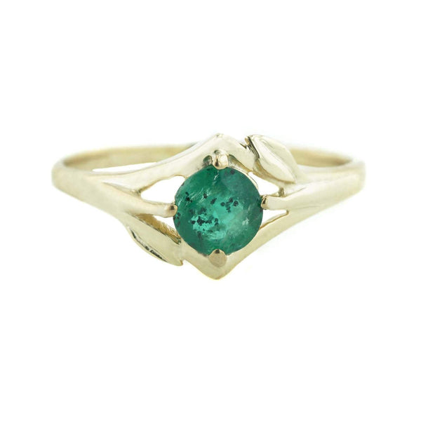 emerald, emerald ring, precious emerald, yellow gold, women's ring, earth ring, best price, fine jewelry, may birthstone, green ring, green stone, mothers day
