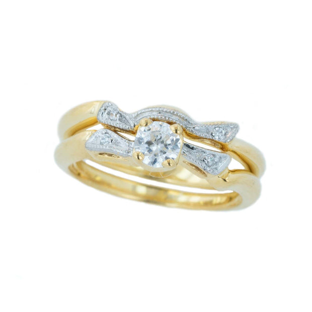 bridal ring sets, engagement ring sets, wedding set, ring sets, gems and jewels, cheap wedding ring sets